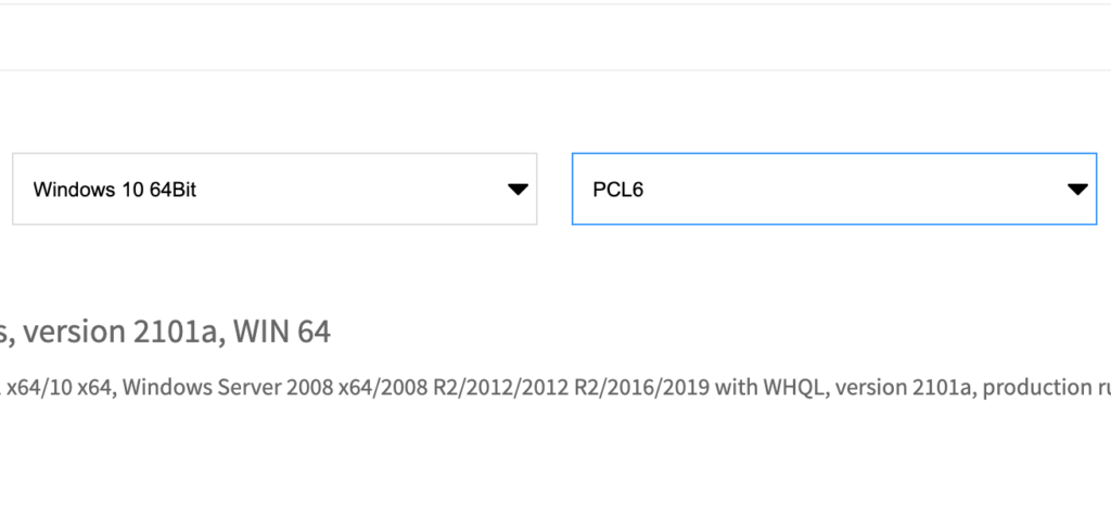 PCL6 emulation
