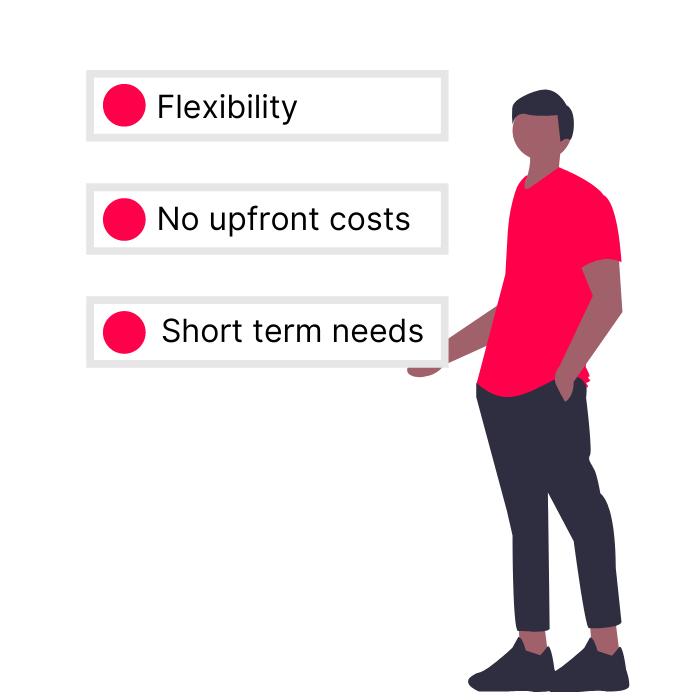 rent a printer benefits
