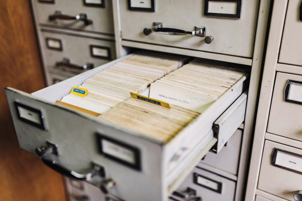 document filing cabinet